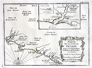 """Partie de la Coste de Guinee"""" -: Bellin, Jacques-Nicolas:"""