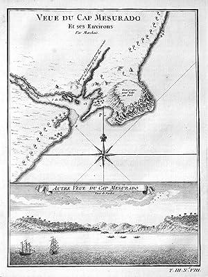 "Veue du Cap Mesurado et ses Environs"": Bellin, Jacques-Nicolas:"