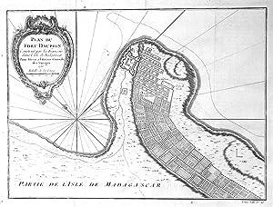 "Plan du Fort Dauphin"" - Tolagnaro Tolonaro: Bellin, Jacques-Nicolas:"