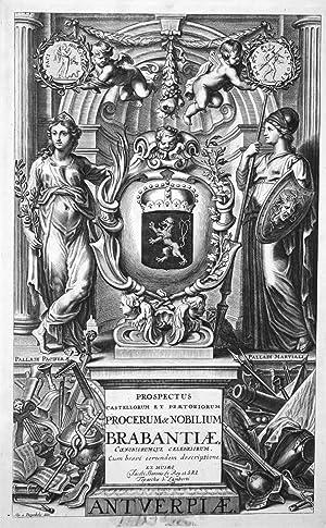 """Prospectus castellorum et praetorium . Brabantiae"""" -: van Diepenbeeck, Abraham:"""