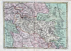 Le Duche Cleves Maps Abebooks
