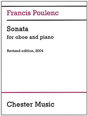 Sonata for Oboe and Piano by Poulenc, Francis