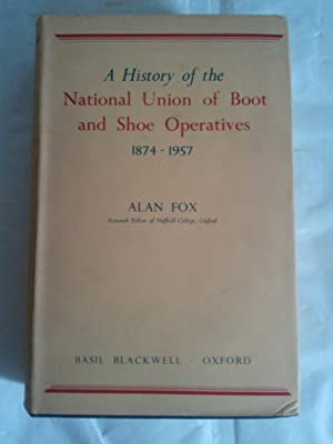 A history of the National Union of: Fox, A