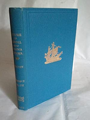 The Historie of Travell Into Virginia Britania: William Strachey