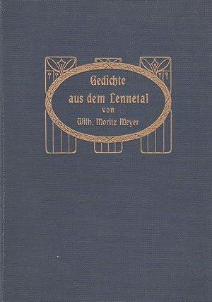 Gedichte aus dem Lennetal.: Meyer, Wilhelm Moritz: