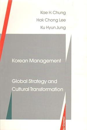 Korean Management.: Chung, Kae H.,