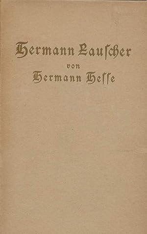 Hermann Lauscher.: Hesse, Hermann:
