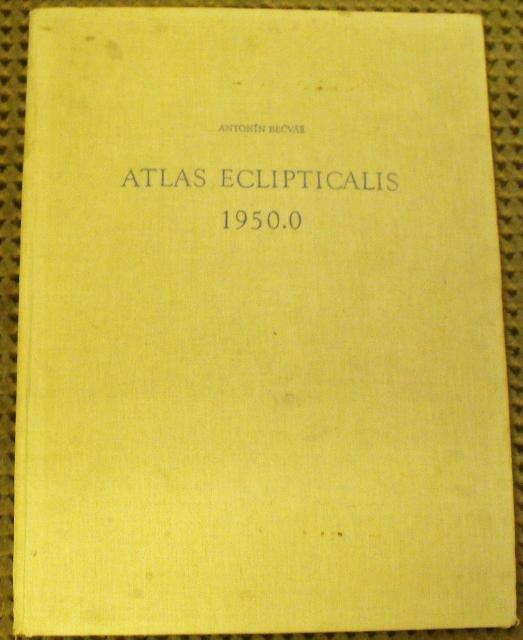 Atlas Eclipticalis 1950.0: Becvar, Antonin