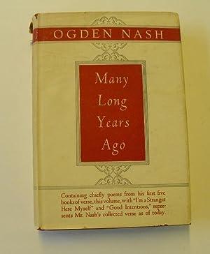 Many Years Ago: Nash, Ogden