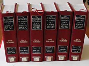 The Guinness Encyclopedia of Popular Music (Six Volume Set): Larkin, Colin