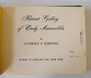Portrait Gallery of Early Automobiles: Hornung, Clarence P.