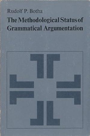 The Methodological Status of Grammatical Argumentation. (Janua: Botha, Rudolf P.: