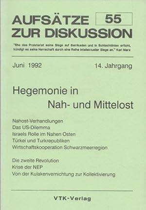 Aufsätze zur Diskussion (AzD) Nr. 55 /: Weiß, Manfred und