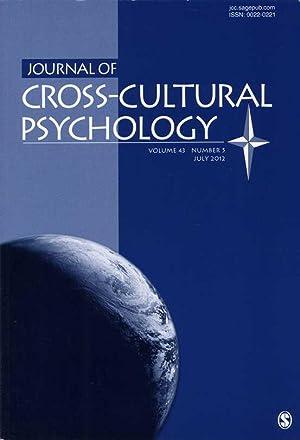 Journal of Cross-Cultural Psychology. Volume 43, Number: Matsumoto, David R.
