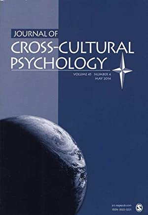 Journal of Cross-Cultural Psychology. Volume 45, Number: Best (Ed.), Deborah