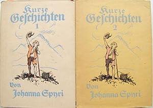 JOHANNA SPYRI - 2 TITEL - MIT SCHUTZUMSCHLÄGEN:: Spyri, Johanna