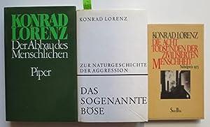 KONRAD LORENZ - 5 TITEL:: Lorenz, Konrad