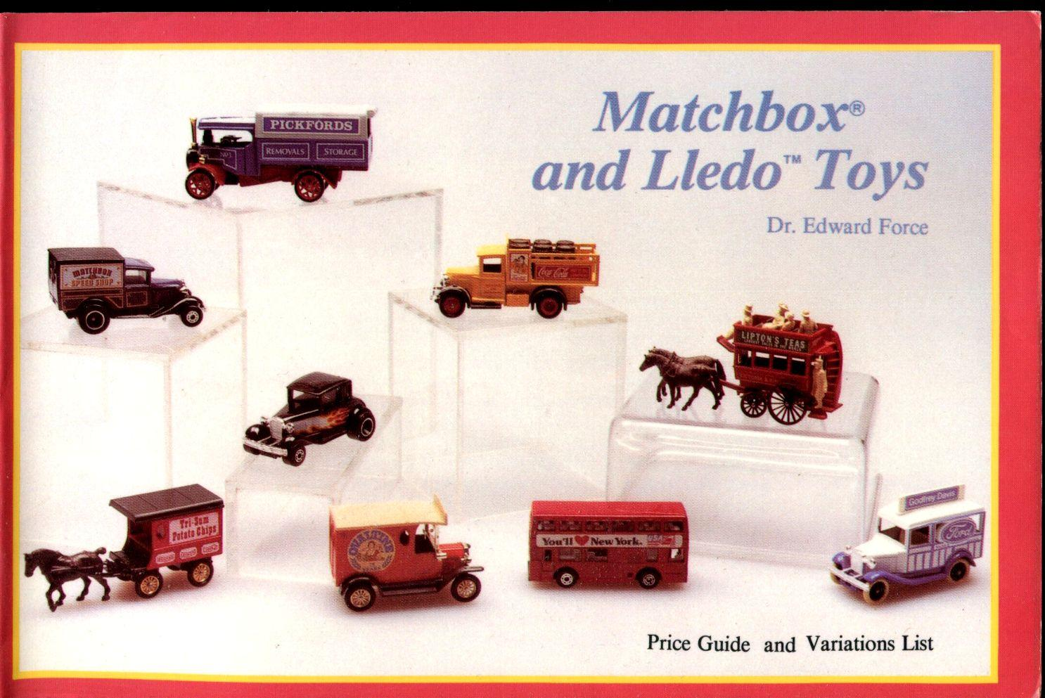 Matchbox and Lledo Toys : Price Guide and Variations List by Force ...
