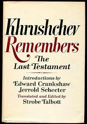 Khrushchev Remembers: The Last Testament: Khrushchev, Nikita
