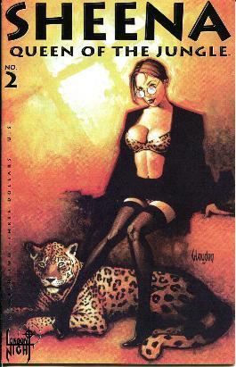 Sheena Queen of the Jungle - No.: Shoemaker, Mike