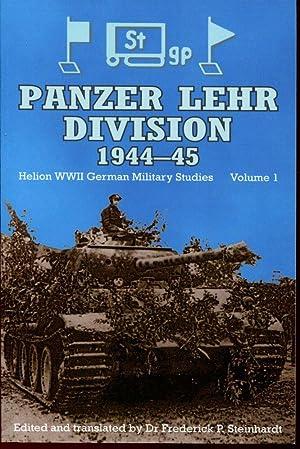 Panzer Lehr Division, 1944-45: Steinhardt, Frederick P.