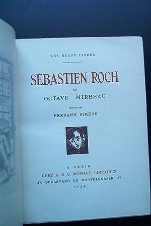 SEBASTIEN ROCH. Illustrations de Fernand Simeon.: MIRBEAU Octave.