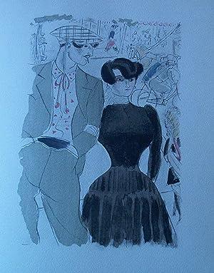 BUBU DE MONTPARNASSE illustré de 15 aquarelles de Chas Laborde.: PHILIPPE Charles-Louis - ...
