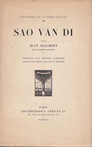 SAO VAN DI. Portrait par Eugène Carrière: AJALBERT Jean.