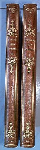 FABLES mises en vers par M. Jean de La Fontaine.: LA FONTAINE Jean de la.