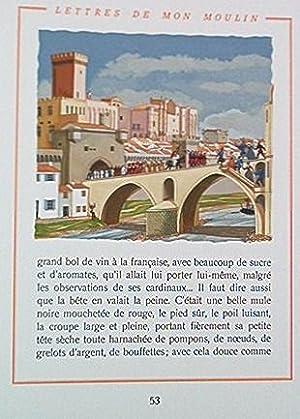 TARTARIN DE TARASCON - CONTES DU LUNDI - LETTRES DE MON MOULIN. Illustrations de Henry Lemari&...
