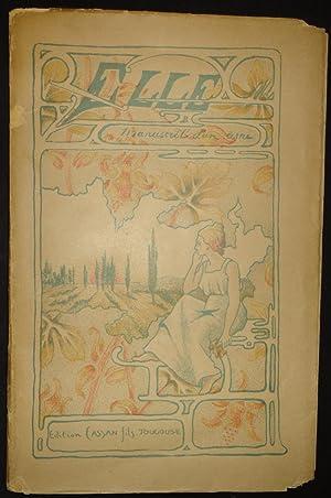 ELLE. Manuscrit d'un ami.: BEGOUEN Comte Henri et Joseph des ESSARTS.