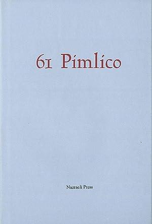 Bill Jay: 61 Pimlico: The Secret Journal of Henry Haylor: JAY, Bill, HAYLOR, Henry