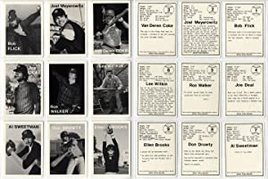 Mike Mandel: Untitled (Baseball-Photographer Trading Cards), Complete Set of 135 Cards (As New)