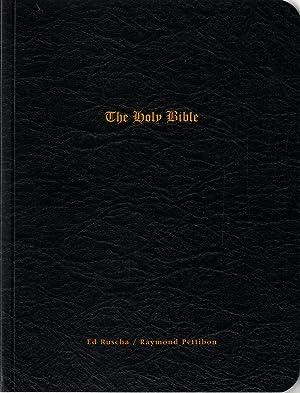 Ed Ruscha & Raymond Pettibon: The Holy: RUSCHA, Ed (Edward),