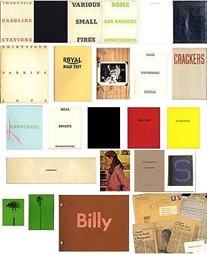 Ed Ruscha (A collection of 16 artist's: RUSCHA, Ed (Edward)