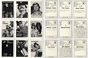 Mike Mandel: Untitled (Baseball-Photographer Trading Cards), Complete Set of 135 Cards [SIGNED by ...