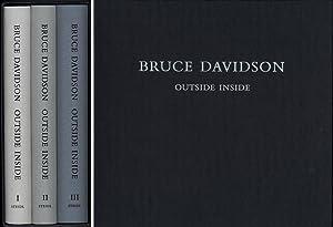 Bruce Davidson: Outside Inside (Three Volumes): DAVIDSON, Bruce
