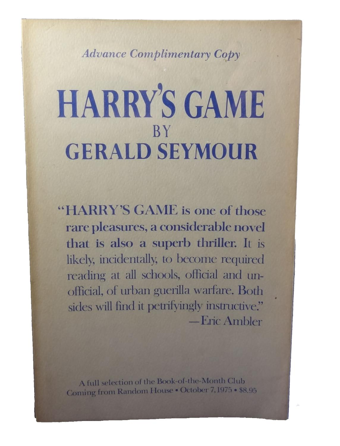 Harry's Game Seymour, Gerald