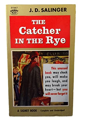 the catcher in the rye by j d salinger 3 essay