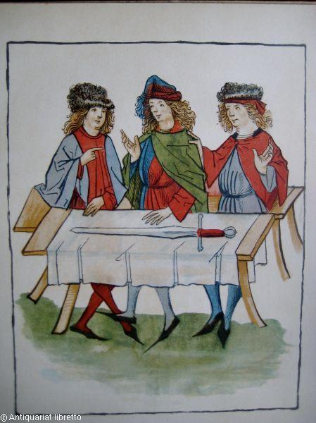 Das Femgerichtsbild des Soester Stadtarchivs. Herausgegeben von: Amira, Karl von: