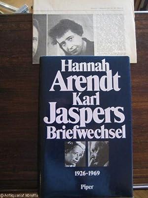 Briefwechsel 1929 - 1969. Hrsg. von Lotte: Arendt, Hannah u.