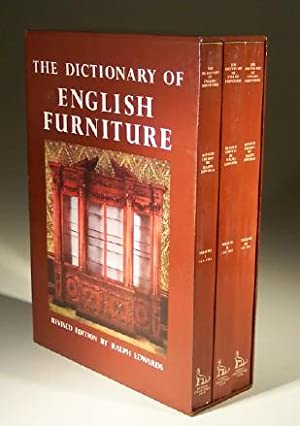 The Dictionary of English Furniture from the: Percy Macquoid &