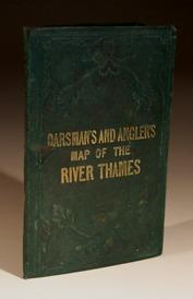 The Oarsman's and Angler's Map of the: E.G.Ravenstein
