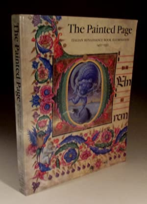 The Painted Page - Italian Renaissance Book: Jonathan J.G.Alexander (Editor)