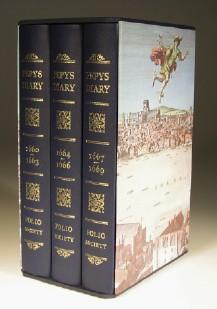 Pepys's Diary - 3 Volumes