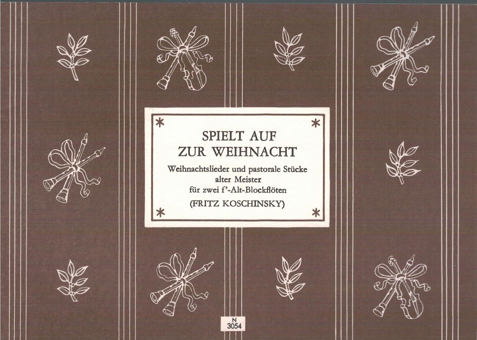 Populäre Weihnachtslieder.Alte Weihnachtslieder Und Zvab