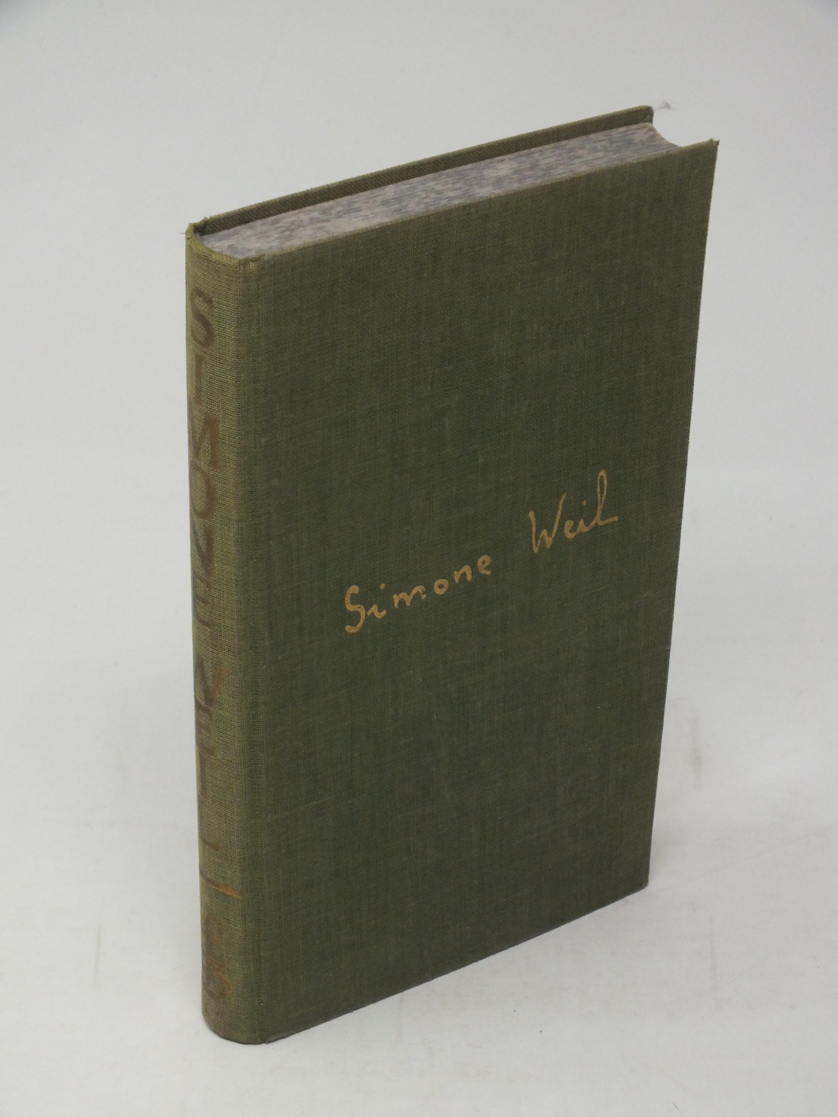 Wir kannten Simone Weil - Perrin, J.-M.; Thibon, G.