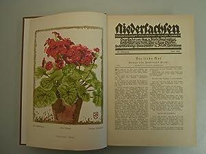 Niedersachsen - Monatsschrift für Heinmat - Kunst - Leben: Pfeiffer, Hans; Lindemann, ...