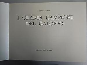 I grandi campioni del galoppo 1965: Canti, Enrico