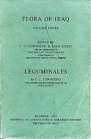 Flora of Iraq, volume Three, Leguminales: Townsend, C C